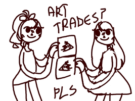 art trades? pls by pff-f