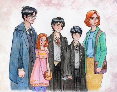 Potter Family by Dinoralp