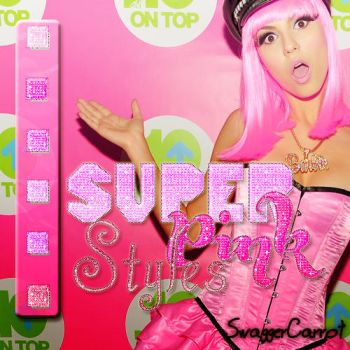Super pink styles by SwaggerCarrot
