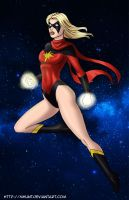 Ms. Marvel by mhunt