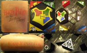Harry Potter Book Puzzle by MikilofSouthern