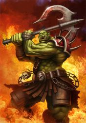 WoW Cover 'Orc' by PRDart
