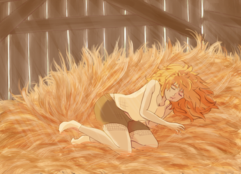 napping by Deitsuck