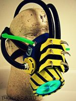 Chemical Plant cybernetic gas mask by TwoHornsUnited