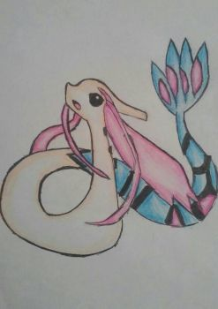 Milotic by Meti-Chan