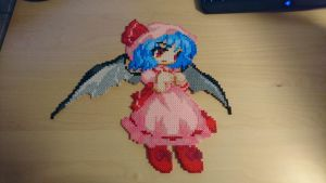 Touhou Character 2 - Remilia Scarlet (redone) by MagicPearls
