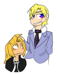 fullmetal and the prince by LightningBolt13