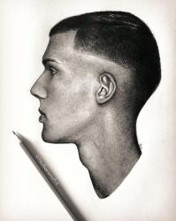 STROMAE (pencil) by Cataclysm-X