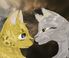 Request: Lynx and Serval by graffiti-blaze