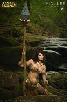 The Bestial Huntress - Nidalee by Benny-Lee