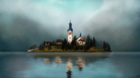 Bled Paint by Photomentation
