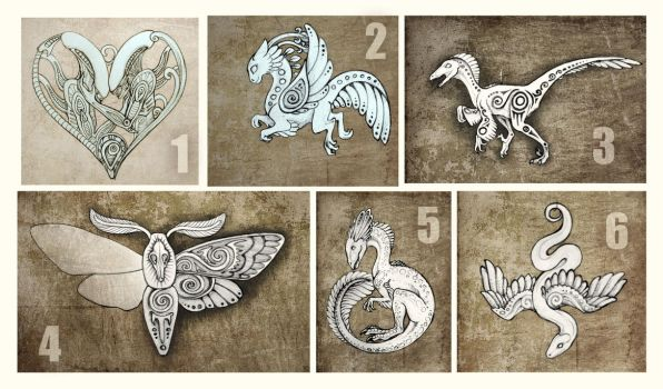 Sketches for pendants VII - please vote) by hontor