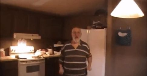 Angry Grandpa Jumping GIF by Grantrules