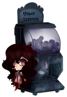 [Gashapon] Urban Legends [CLOSED] by ShatteredSightAdopts