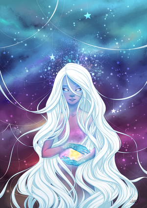 Astral Girl by Lily-Fu