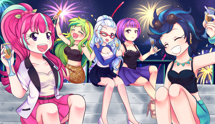 Happy New Year! by Lucy-tan