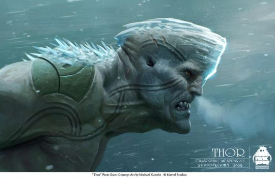 Thor -Bull Frost Giant Concept by michaelkutsche