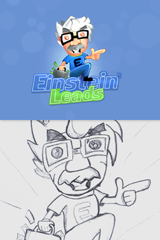 Einstein leads logo by sm0kiii