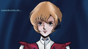 ROBOTECH:  Dana Quick Sketch by LeElf
