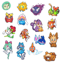 Bunch of random pokemon
