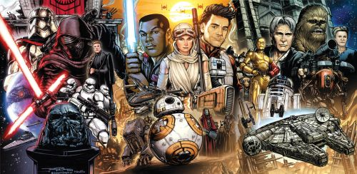 Star Wars The Force Awakens by Wesflo