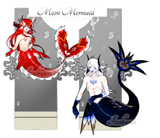 MoonMermaid Auction #19-#20 [Closed] by Aro-around