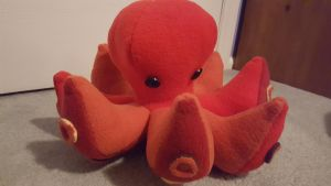 Red Octopus by melpk