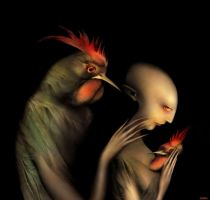 The night guests by Bobrova