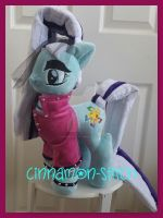 mlp plushie commission Countess Coloratura by CINNAMON-STITCH