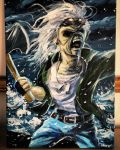Eddie Iron Maiden fan art by Wallach1