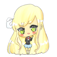 .::Welcome new chibi stylee::. by scarlet-glow