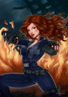 Black Widow by Nayruyami