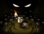 Richard and Tommy in Don't Starve by Bielek