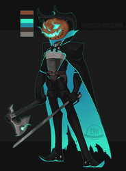 Halloween # Headless Horseman 405 by SithLordDeneray