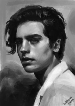 Cole Sprouse by adelexblair