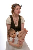Jornist and child 11 by Meltys-stock