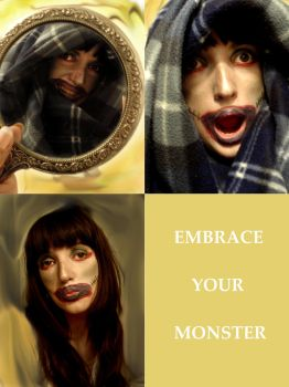 Embrace Your Monster by DarcRose22