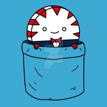 Peppermint Butler In A Pocket by SaMtRoNiKa