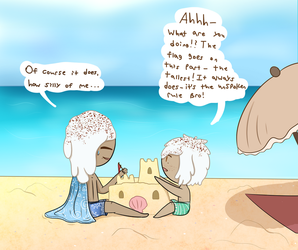 Princes At The Beach! by Thestar78956