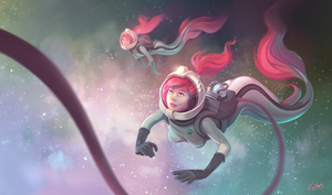 Mermaids in Space by Vantasy