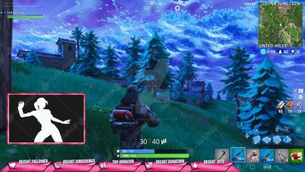 [PINK] Victory Royale 2018 - Stream Overlay by lol0verlay