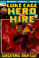 luke cage hero for hire homage by laseraw