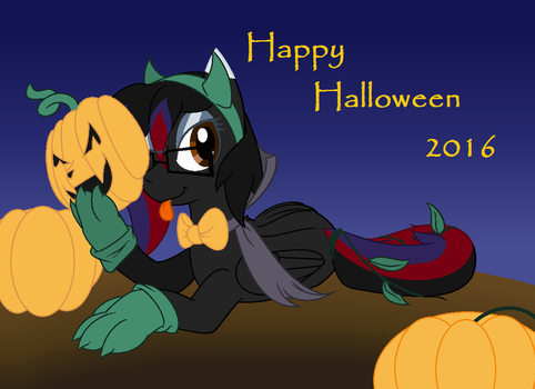 Happy Halloween 2016 by cheshire-cat-tamer