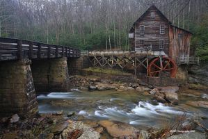 Glade Creek Grist Mill by TRBPhotographyLLC