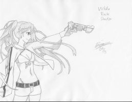 White Rock Shooter ! by verluxez