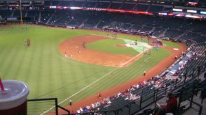 My view of Braves-Dbacks Game by BigMac1212