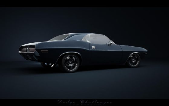Dodge Challenger_Back by Saleri
