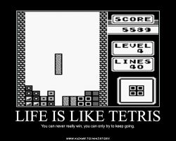 Strip tetris Gay