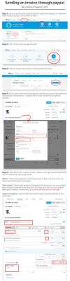 How to send an invoice using paypal by KFCemployee