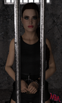 Lara Locked Away by MartyMartyr1